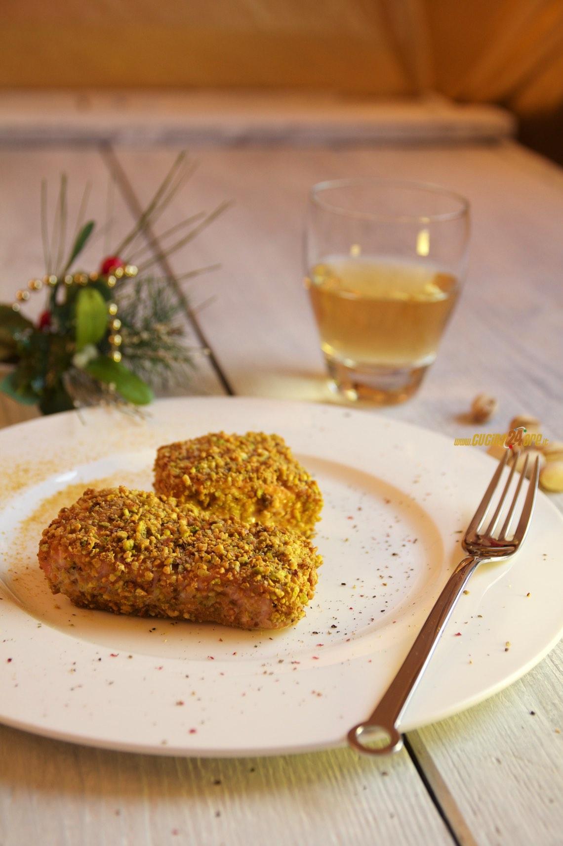 Salmone Panato Con Pistacchi – Speciale Salmone di Natale