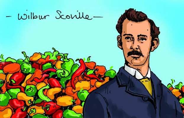 Wilbur Scoville, in un doodle la piccantezza dei peperoncini