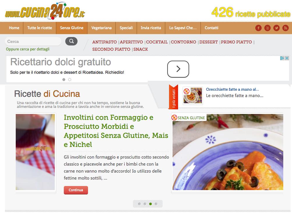 Cucina24ore.it sbarca su Telegram, il primo canale di senza glutine di cucina green e light – GRATIS