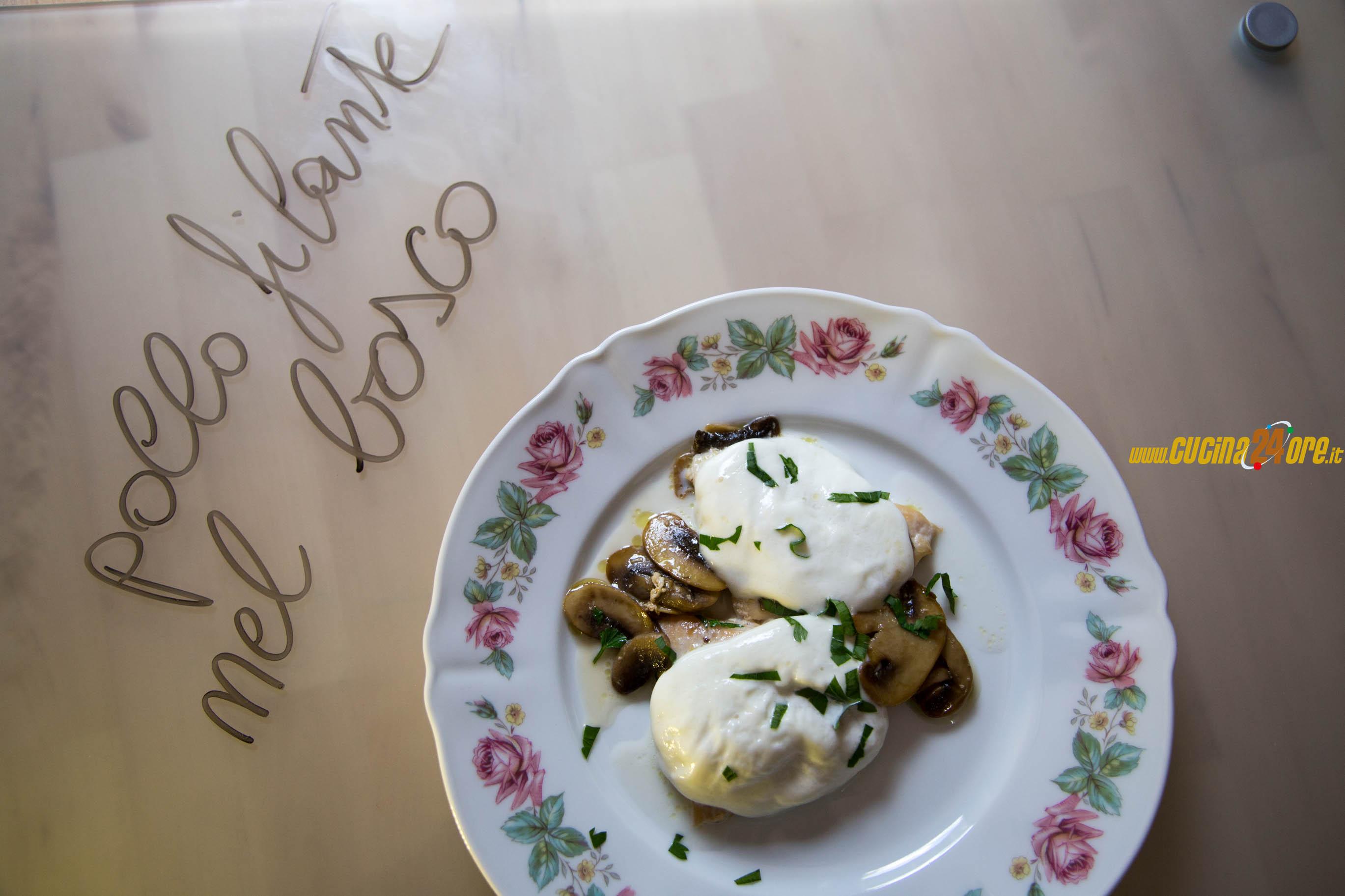 Come cucinare un petto di pollo morbido e gustoso – Petto di pollo ai funghi e bufala