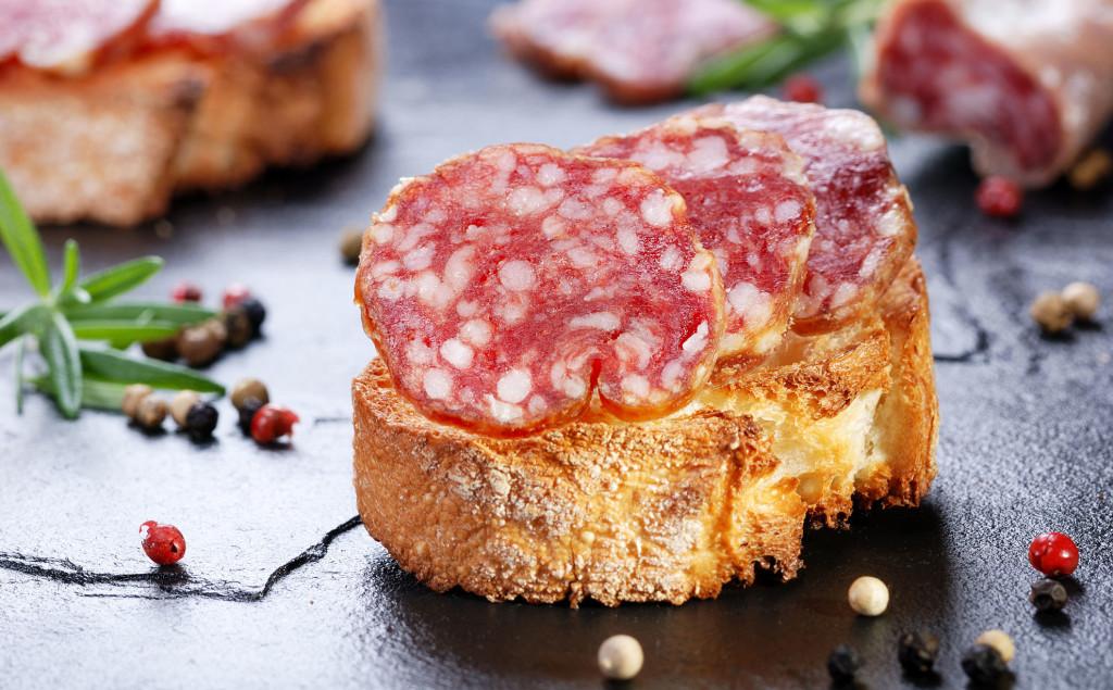 Il gusto del vero salame Napoletano che ti lascia anche a cuor leggero