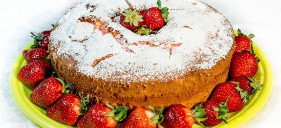 Angel Cake Ricetta Knam