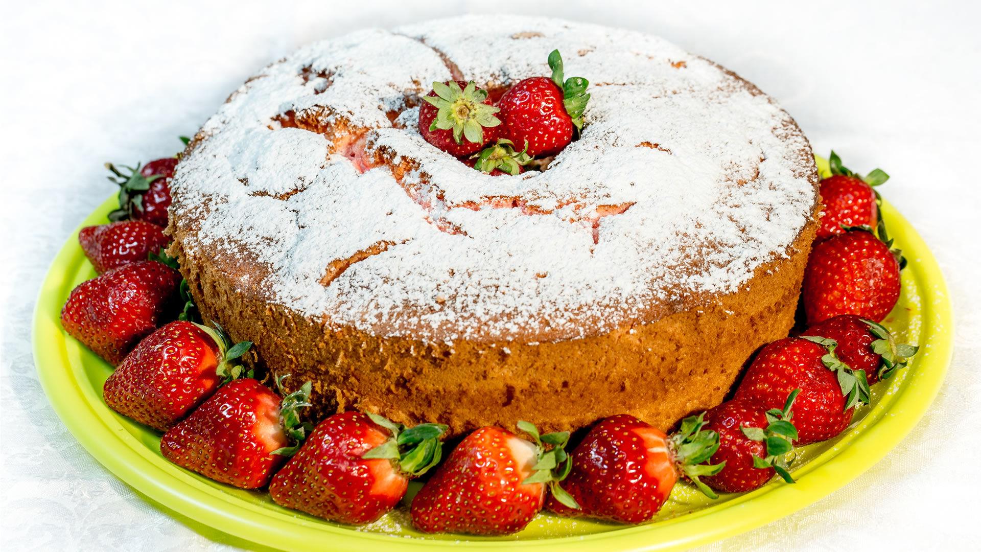 """Dolce senza pensieri, """"Angel Cake alle Fragole"""""""