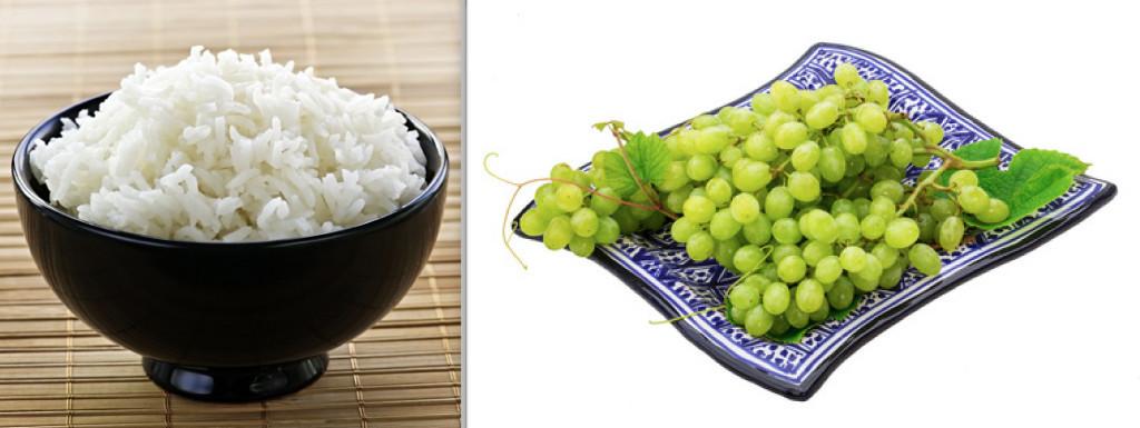 Risotto all'uva con stracchino, una prelibatezza fine e squisita