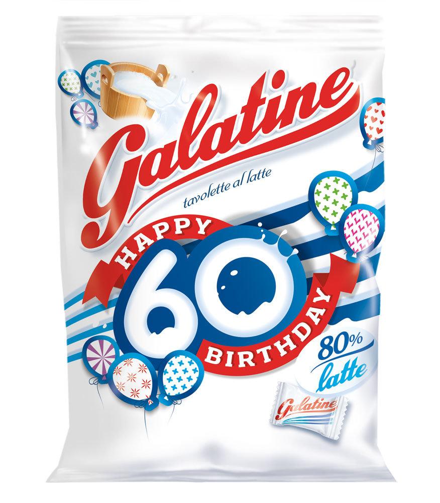 Galatine, la tavoletta al latte compie 60 anni e si rinnova. Naturalmente senza glutine!