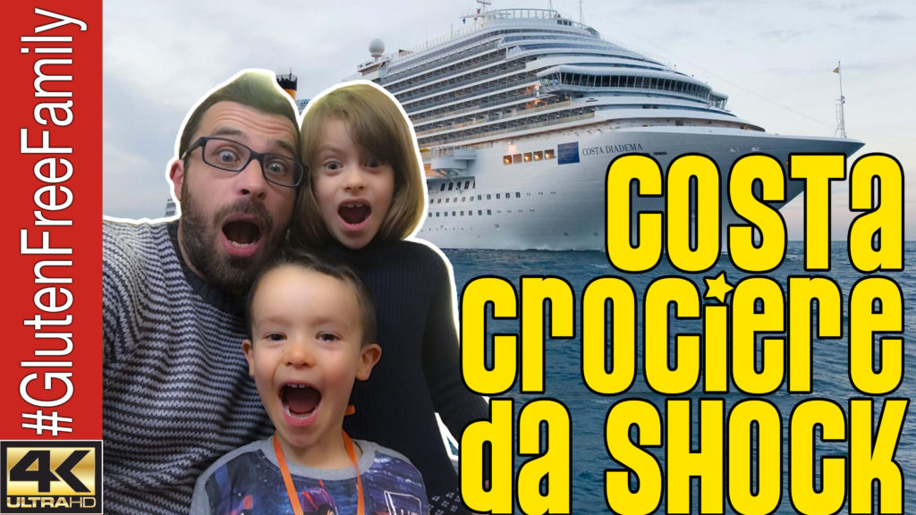 COSTA CROCIERE da SHOCK. Senza Glutine sulla Diadema | Ep14 | @costacrociere @Costa_Press @CostaCruises