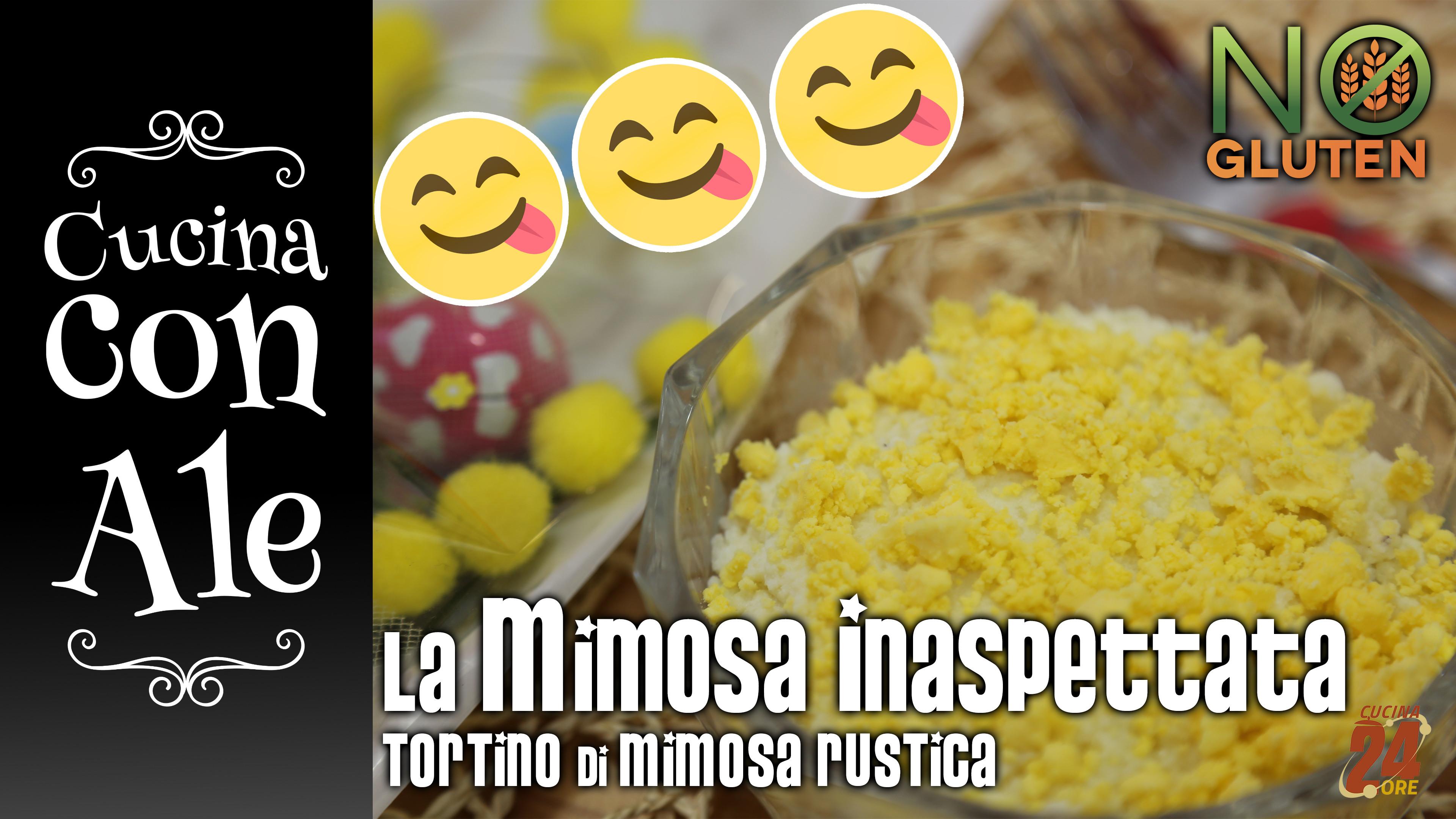 Sorpresone per la Festa delle Donne! La Mimosa Inaspettata. Il tortino di Mimosa rustica