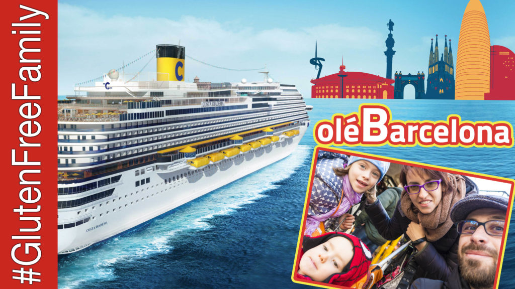 olé BARCELONA. Senza Glutine sulla Costa Crociere Diadema | Ep19 | @costacrociere @Costa_Press @CostaCruises