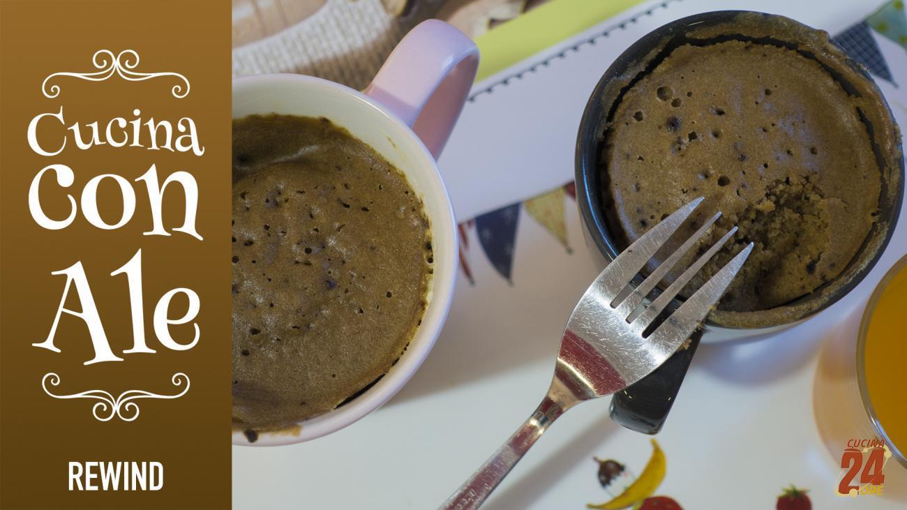 Torta In Tazza, Senza Glutine e Lievito per la Colazione di Grandi e Piccini… Dolcezza e Carica in 5 Minuti