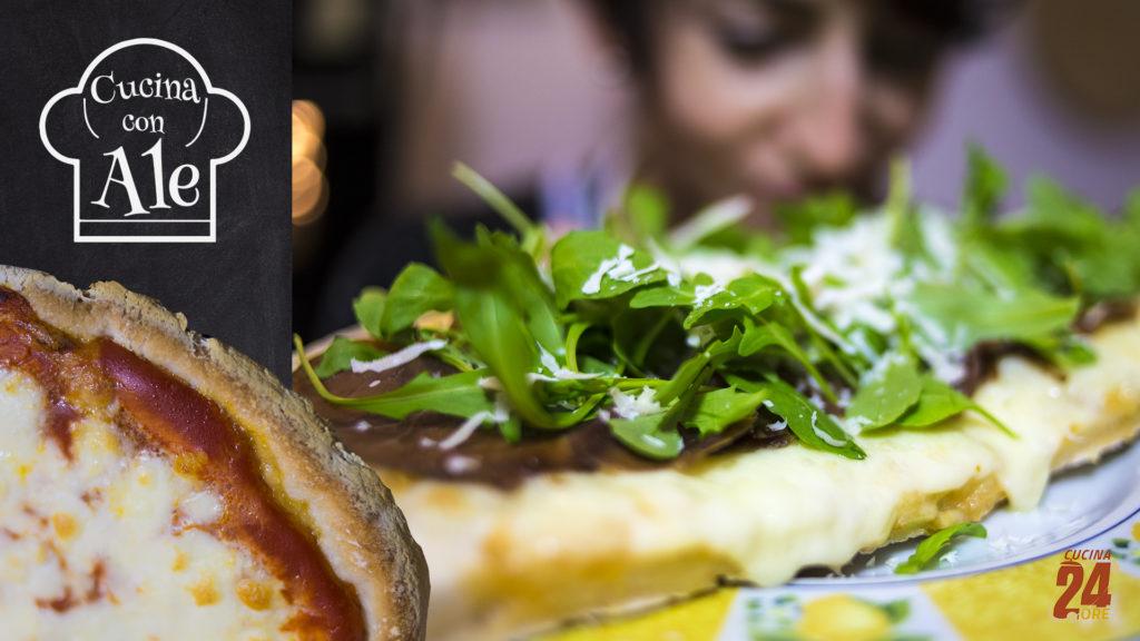 """Pizza Napoletana Senza Glutine Alta e Croccante, con Pochissimo Lievito. Ricetta Facile e """"Veloce"""" che Riesce Sempre!"""
