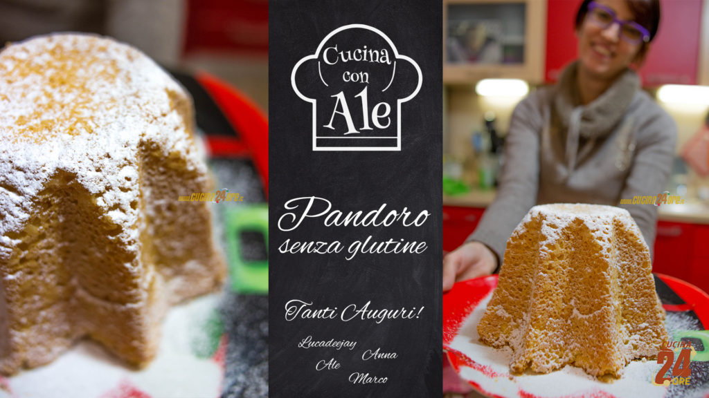 Pandoro Senza Glutine… Un solo Impasto, Facilissimo e Veloce con la Macchina del Pane!