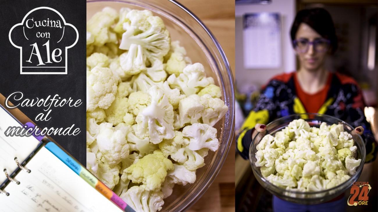 Cavolfiore al Microonde in 7 Minuti Senza Odori e Pronto da Congelare