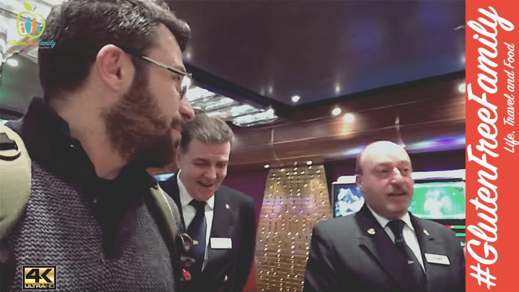 INCREDIBILE… Entriamo sul PONTE di COMANDO della COSTA DIADEMA! vlog Crociera Barcellona