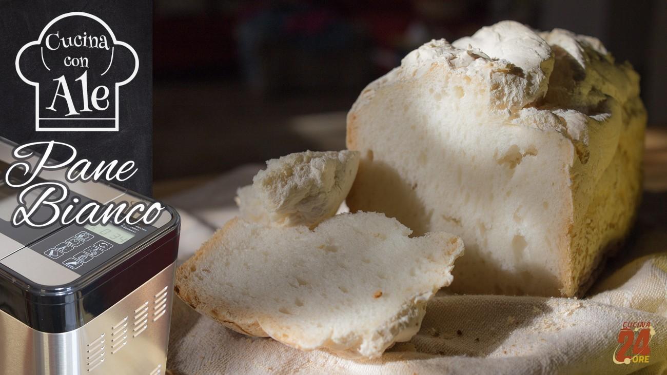 Pane Bianco con Macchina del Pane, Facilissimo, Fragrante con Crosta Croccante, ma solo 2 gr di Lievito!