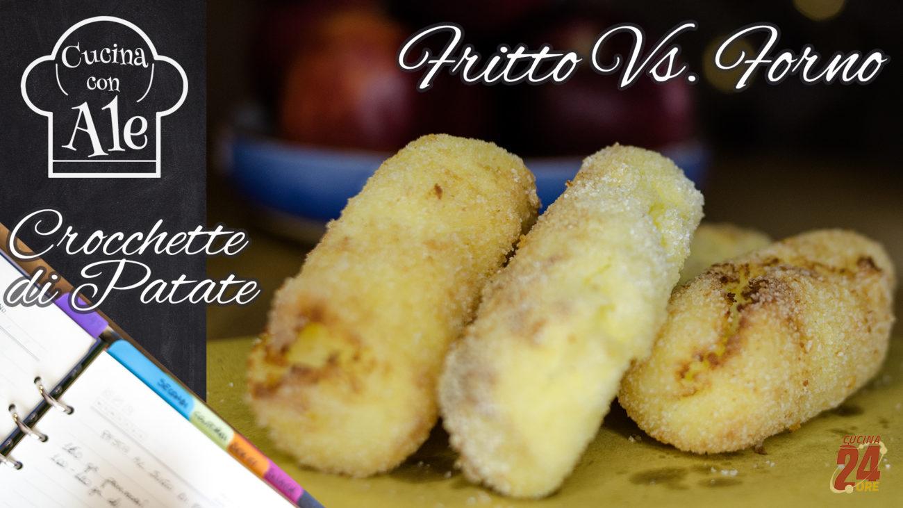 Festa del Papà: Crocchette di Patate Senza Glutine Fritte e Al Forno… Scova le Differenze! Con Cuore Filante…