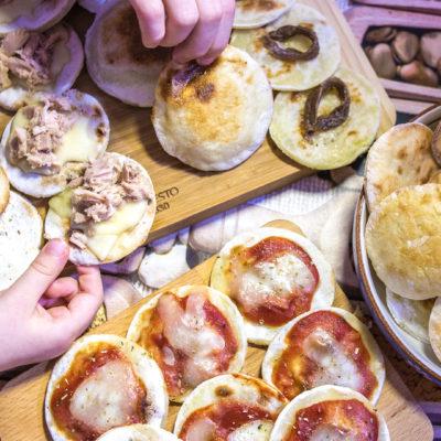 Pizzette Ripiene in Padella, Senza Lievitazione e Senza Glutine – Pizza per Tutti