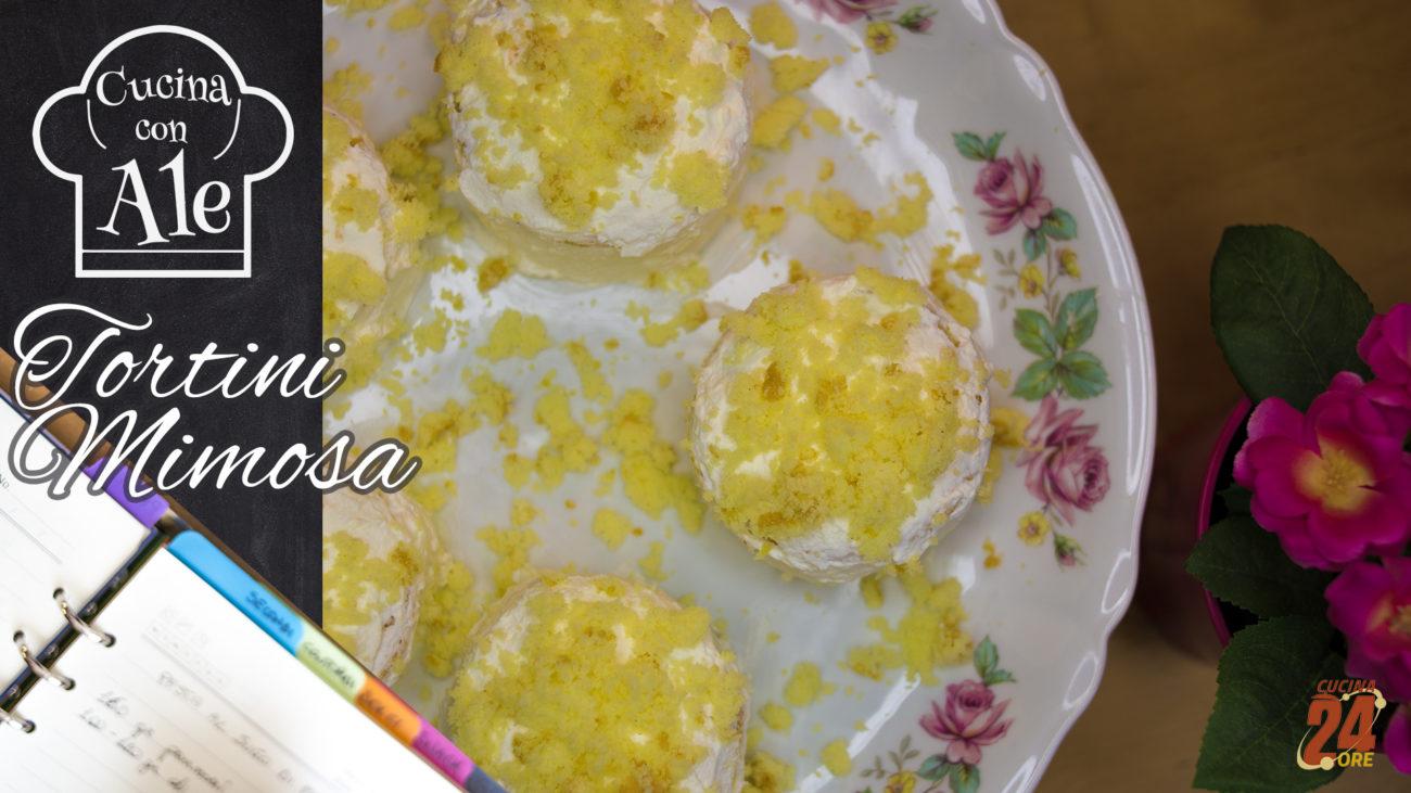Tortini Mimosa, Velocissimi e Facilissimi: Pan di Spagna in 10 Minuti, Crema al limone e Cannella, Bagna alla Vaniglia!