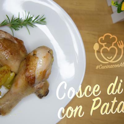 Cosce di Pollo e Patate in Padella, Come Farle in Poco Tempo