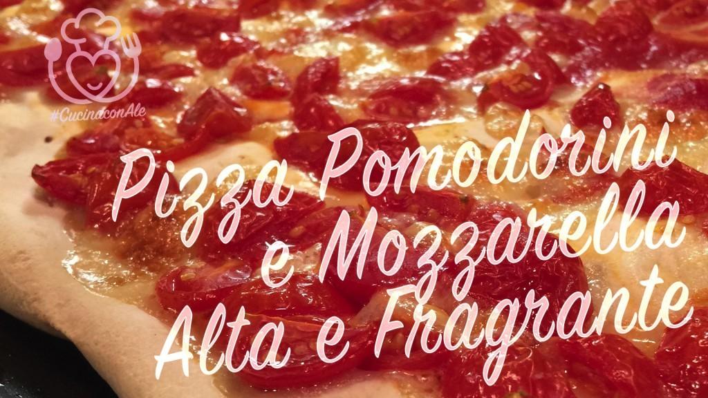 Pizza con Pomodorini e Mozzarella, Alta e Senza Glutine – Semplicità e Sapore Mediterraneo