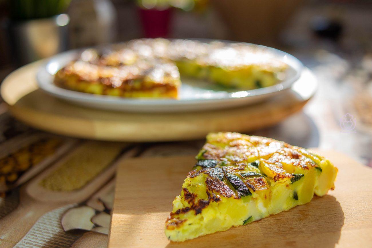 Frittata con Patate e Zucchine – Quanto Tempo Risparmio con il Microonde!