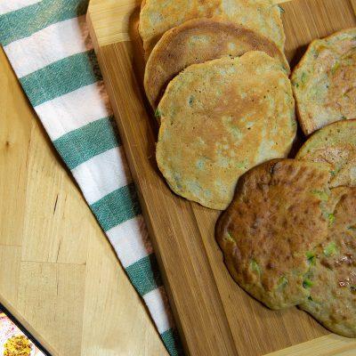 Frittelle di Zucchine Non Fritte con Farina di Grano Saraceno Senza Glutine