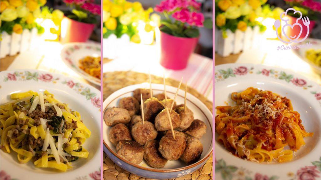 Pranzo della Domenica Veloce e Senza Glutine: 2 Varianti di Tagliatelle e 1 Secondo con 2 Ingredienti Economici