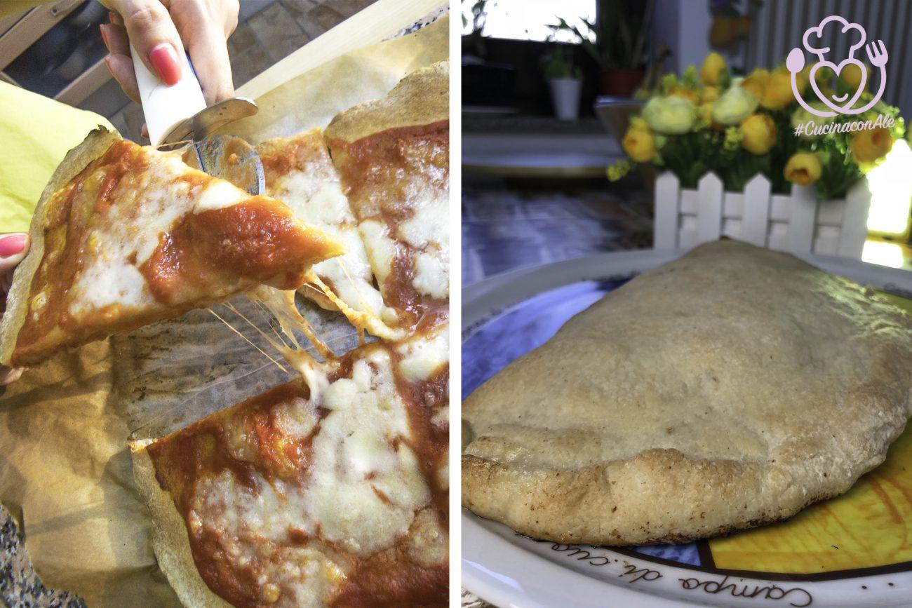 PIZZA MARGHERITA e CALZONE Ripieno Senza Glutine, Come e MEGLIO che in PIZZERIA!