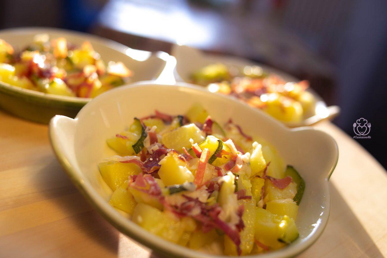 Pasticcio di Patate e Zucchine con Prosciutto e Scaglie di Parmigiano – Ricetta Senza Glutine e Nichel