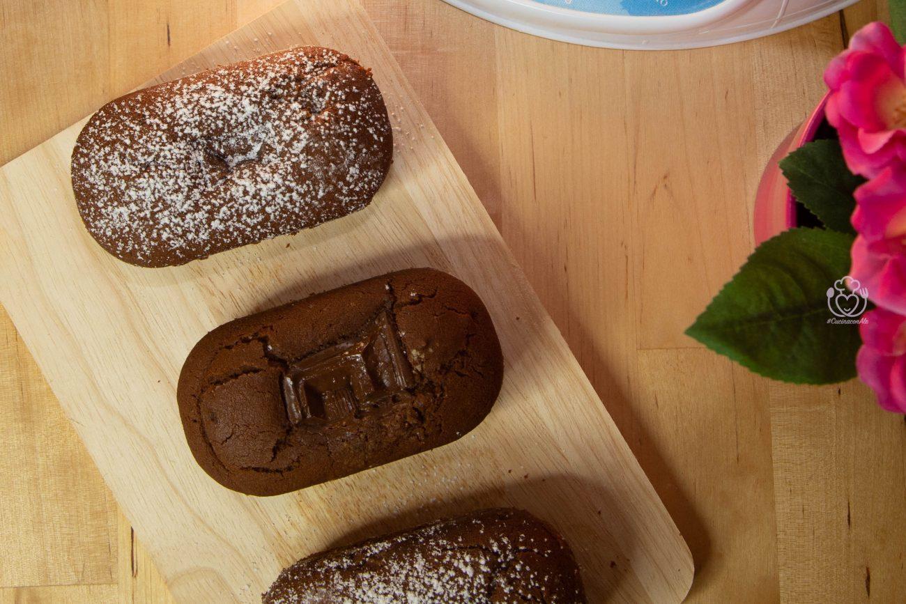 Tortine con Cuore al Cioccolato, Senza Glutine e Solo con Farina di Riso!