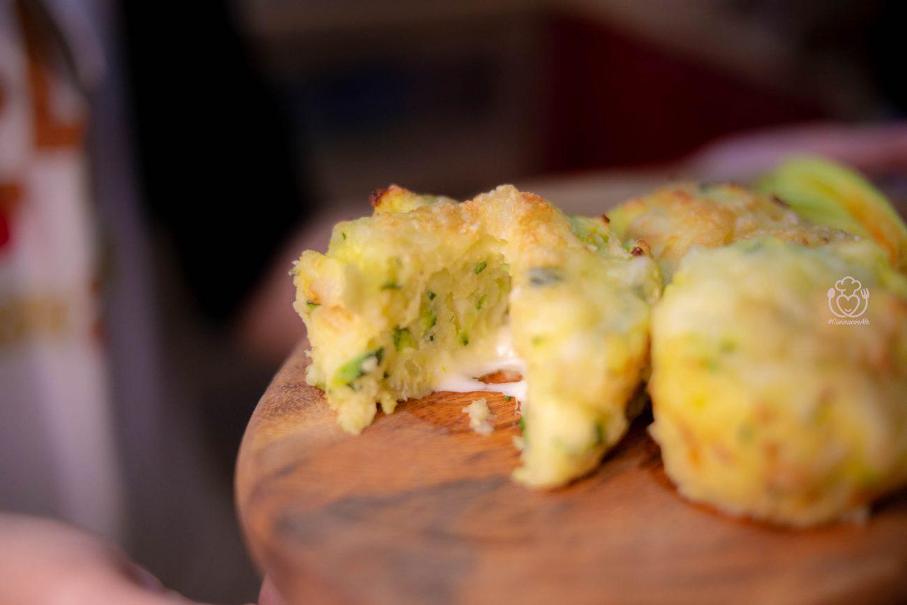 Muffin Salati con Patate e Zucchine al Formaggio per bimbi un po' diffidenti!