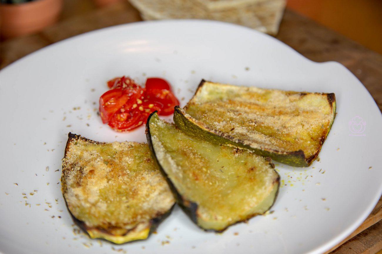 BUONE, DIETETICHE e SALUTARI, Le Zucchine Giganti Gratinate al Forno