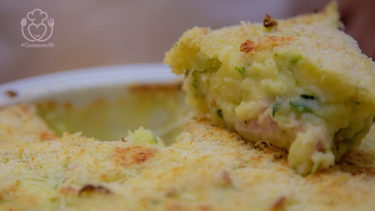 """Torta di Patate e Zucchine – Sformato """"Bigusto"""" Senza Glutine"""