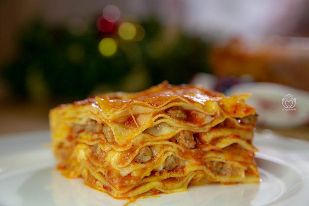 Timballo di Crepes o Crespelle con Pallottine di Carne – Piatto Tipico Abruzzese #RicettediNatale
