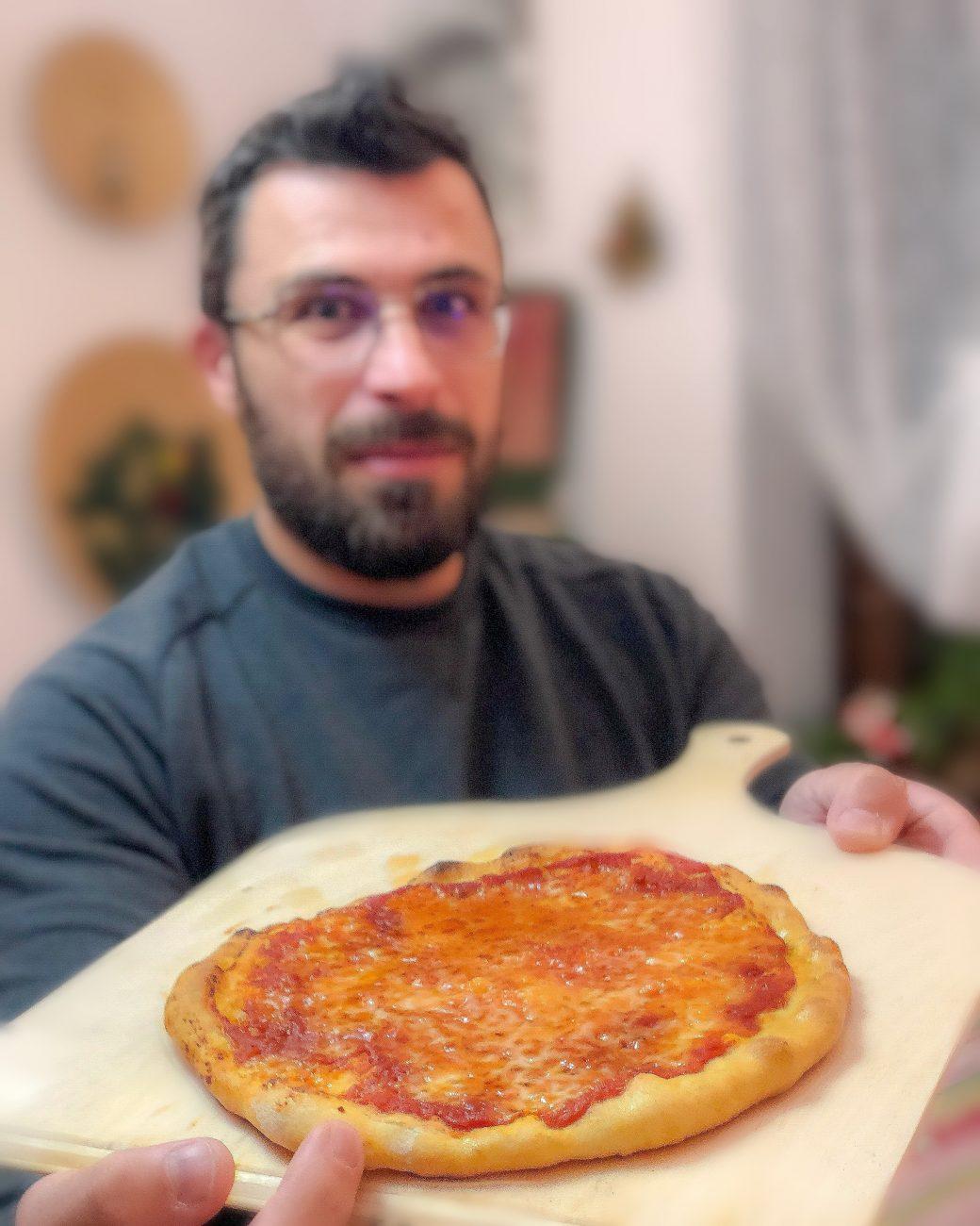 Pizza Istantanea Velocissima Senza Lievitazione Come in Pizzeria con il Fornetto Elettrico