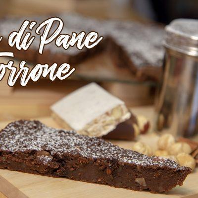 Torta di Pane e Torrone Avanzati con Cioccolato e Cacao