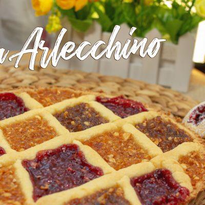 Torta Arlecchino – Crostata di Marmellate Miste Senza Glutine