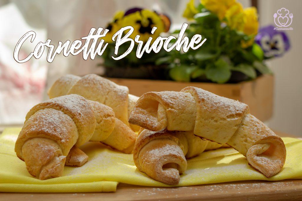 Cornetti Brioche, Come quelli Sfogliati, ma Facili e Veloci – Senza Glutine
