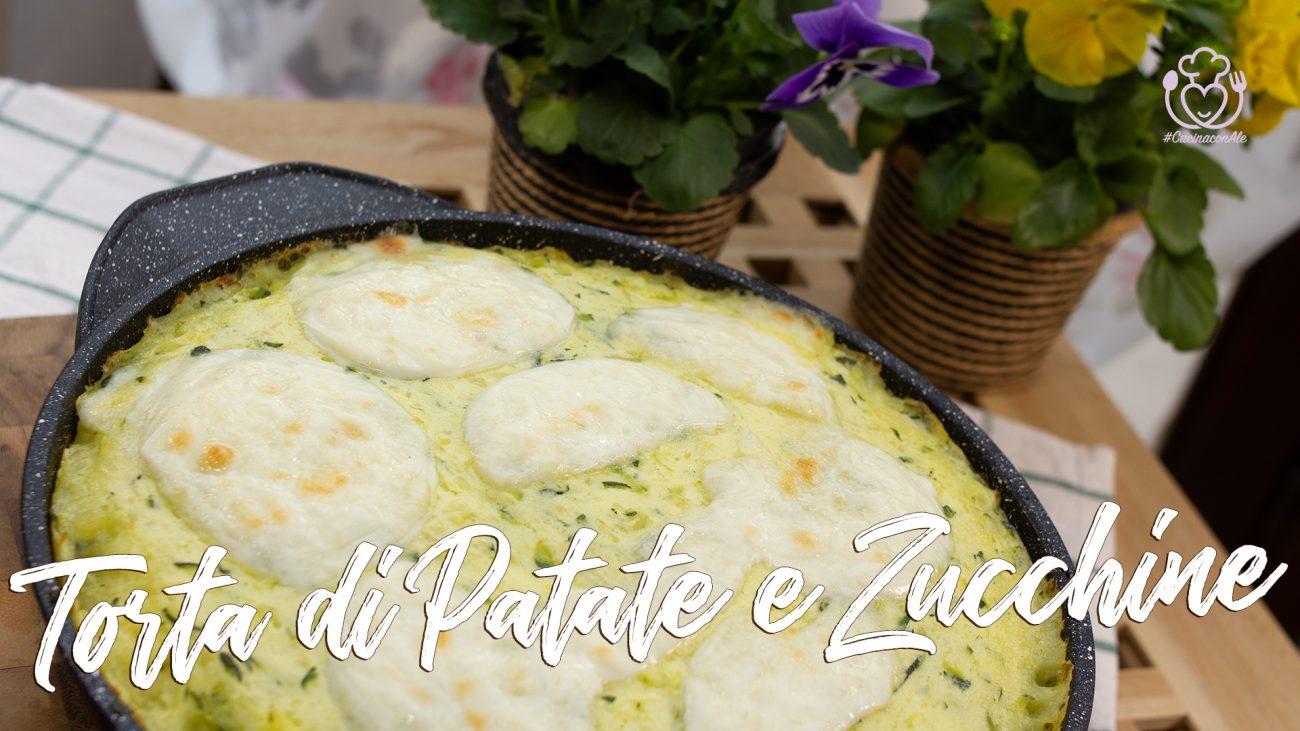 Torta di Patate e Zucchine Velocissima in Padella – Buona Per Tutti, A Prova di Ospite Intollerante!