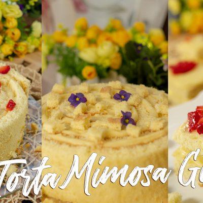 Torta Mimosa Girella a Modo Mio… Solo 5 Ingredienti e Tante Idee – Senza Glutine, Lattosio, Nichel