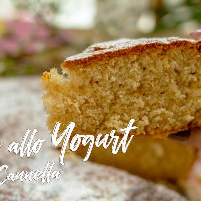 Torta allo Yogurt Caffè e Cannella – Senza Glutine, Velocissima