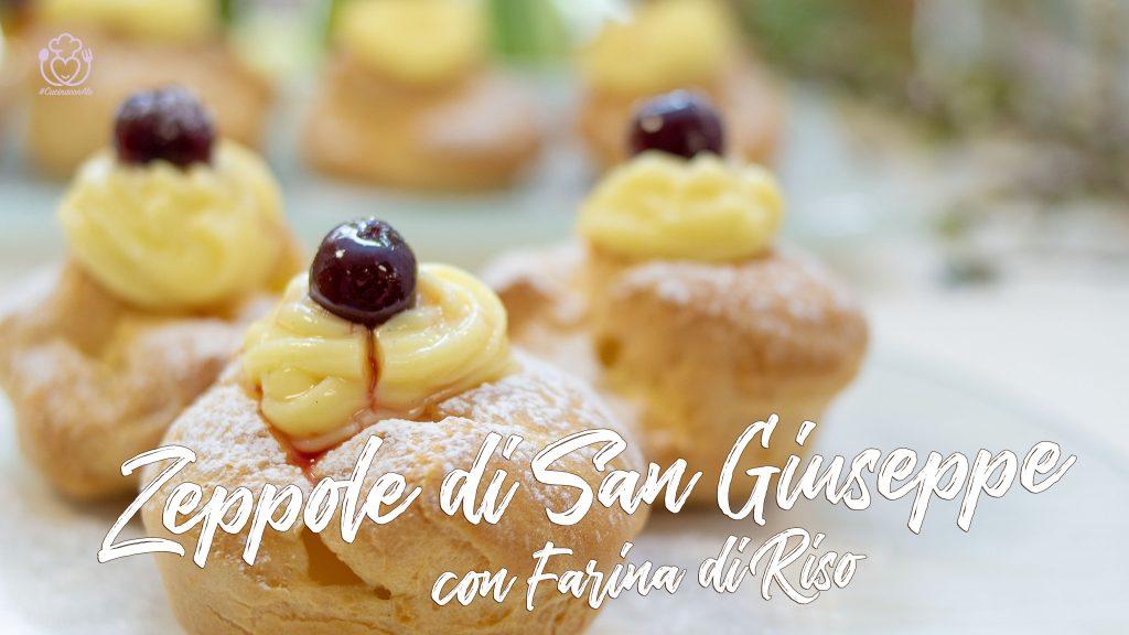 Zeppole di San Giuseppe con Farina di Riso, Come Fare Bignè Ripieni Perfetti Con Farine Naturali