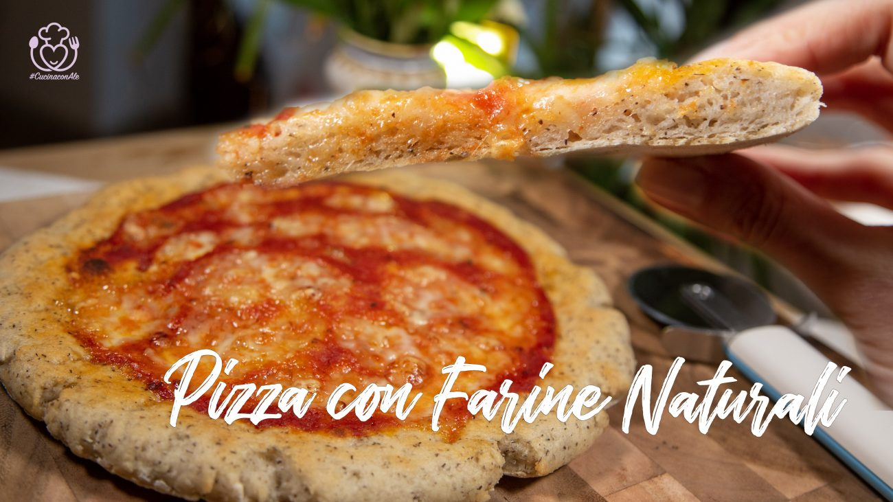 Pizza Senza Glutine con Farine Naturali: il Mix di Vivoglutenfree