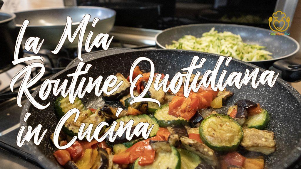 Cuciniamo Insieme Pranzo e Cena – Verdure Grigliate, Piadine di Riso, Zucchine e Merluzzo Semplice in Padella