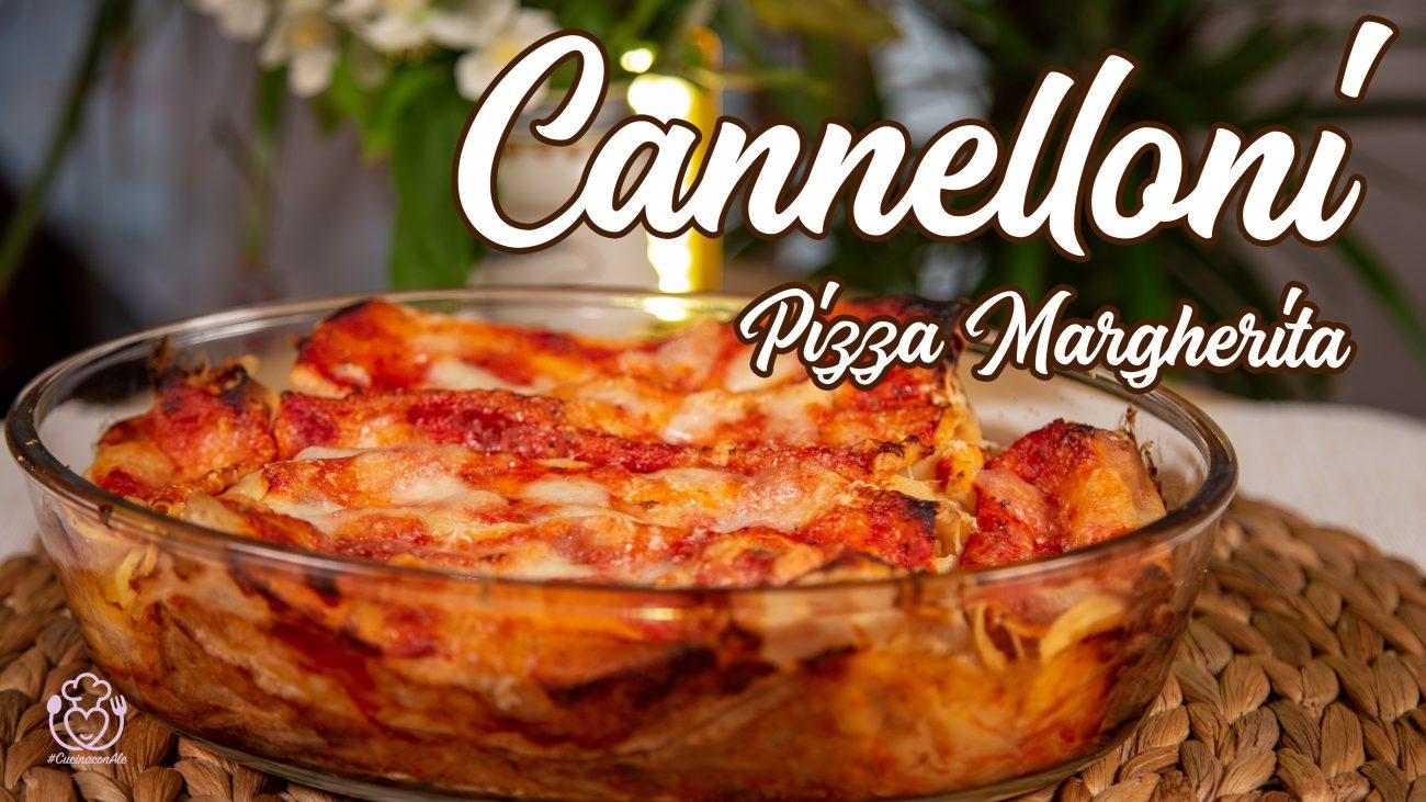 Cannelloni alla Pizza Senza Glutine, Senza Besciamella e Burro, Ricetta Veloce, Ottimi da Congelare