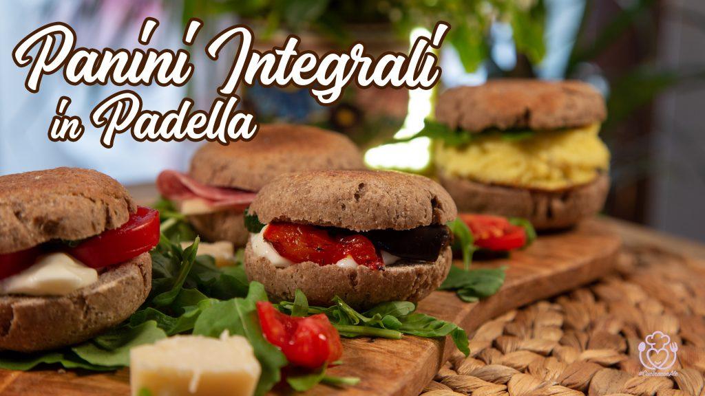 Panini in Padella Integrali Senza Glutine e Senza Lievitazione, Pronti in 10 Minuti
