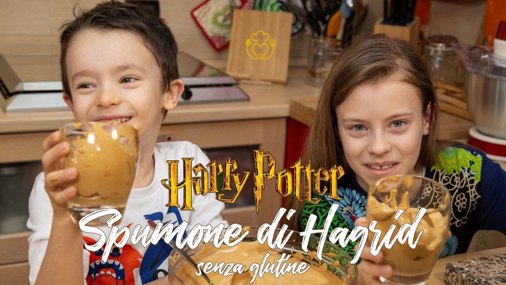 Dolce Mousse al Caffè e al Cioccolato, Lo Spumone di Hagrid – Ricette Fantastiche di Harry Potter
