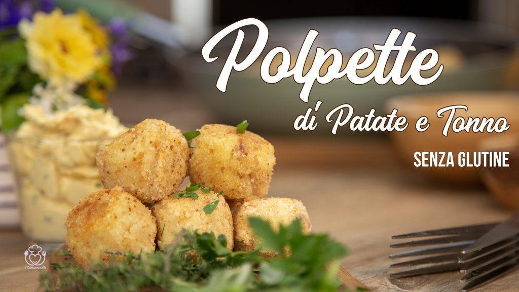 Polpette di Patate e Tonno Senza Glutine con Salsa al Formaggio Speziata