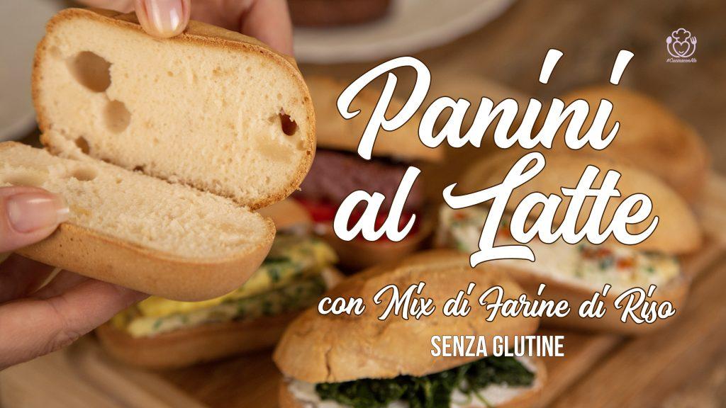 Panini al Latte Con Mix di Farina di Riso Senza Glutine, Mais e Lievito in Cinque minuti… Con e Senza la Macchina del pane