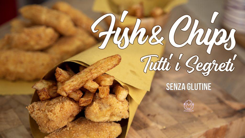 Fish e Chips Senza Glutine, Facili e Veloci, Fatti in casa I Segreti per farli Grandi e con la Pastella Integra con Patatine Express!