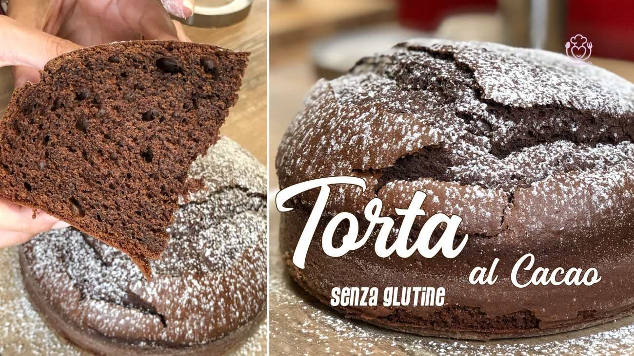 Torta al Cacao Senza Glutine e Senza Lattosio con Pochissimi Ingredienti